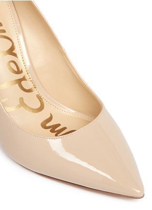 Detail View - Click To Enlarge - Sam Edelman - 'Hazel' faux patent leather pumps