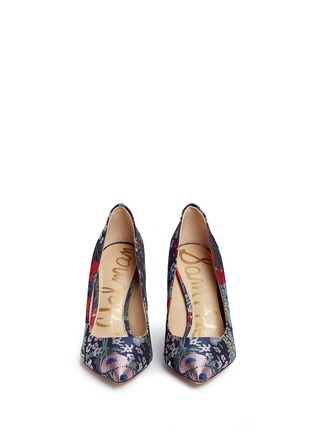Front View - Click To Enlarge - Sam Edelman - Hazel' floral jacquard pumps