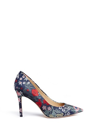 Main View - Click To Enlarge - Sam Edelman - Hazel' floral jacquard pumps