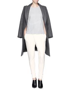 HELMUT LANG'Origami' jersey pants