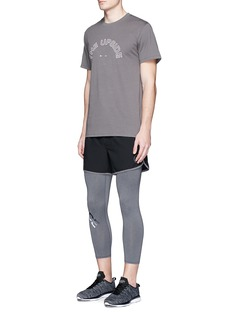 The Upside'Lock Up' cropped performance tights