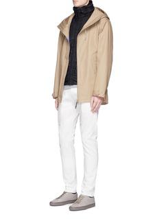 Stone Island'Membrana 3L TC' packable hood blouson jacket
