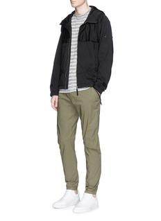 Stone IslandInterior shoulder strap NYLON-R zip hoodie