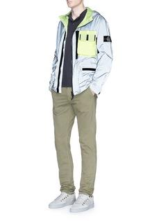 Stone Island'Mussola Gommata' reflective field jacket