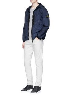 Stone IslandIridescent nylon hooded jacket