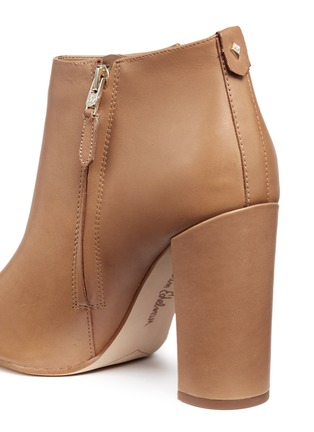 Detail View - Click To Enlarge - Sam Edelman - 'Cambell' leather ankle boots