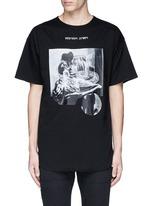'VAMPYROS LESBOS' print oversized T-shirt