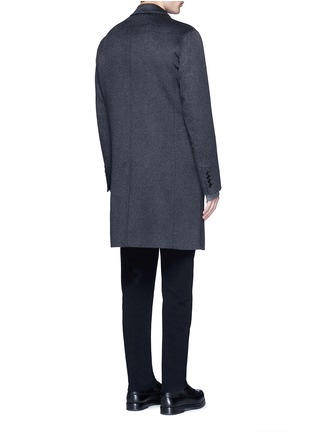 Back View - Click To Enlarge - Ports 1961 - Wool-angora-cashmere flannel coat