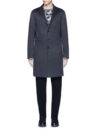 Main View - Click To Enlarge - Ports 1961 - Wool-angora-cashmere flannel coat