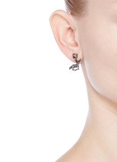 ValentinoUnicorn Rockstud engraved earrings