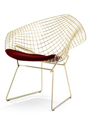 Main View - Click To Enlarge - Knoll - Bertoia diamond chair