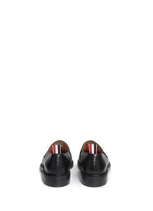 Thom Browne - Pebble leather penny loafers