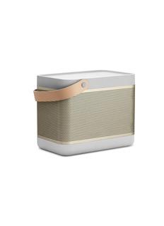 BANG & OLUFSEN Beolit 15便携式蓝牙音箱-香槟色与银色