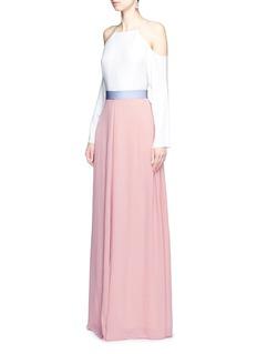 Roksanda'Leighton' ladder stitch seam crepe skirt