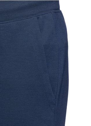 Detail View - Click To Enlarge - Armani Collezioni - Slim fit jogging pants