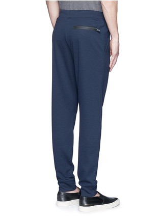 Back View - Click To Enlarge - Armani Collezioni - Slim fit jogging pants