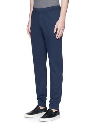 Front View - Click To Enlarge - Armani Collezioni - Slim fit jogging pants