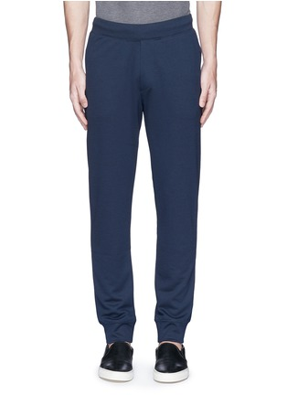 Main View - Click To Enlarge - Armani Collezioni - Slim fit jogging pants