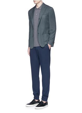 Figure View - Click To Enlarge - Armani Collezioni - Slim fit jogging pants