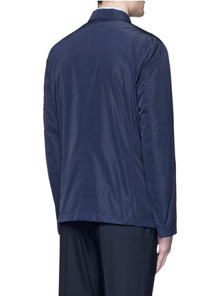 Back View - Click To Enlarge - Armani Collezioni - Water-repellent jacket