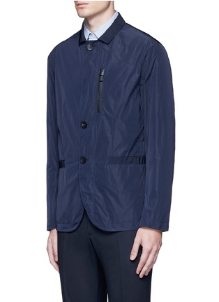 Front View - Click To Enlarge - Armani Collezioni - Water-repellent jacket
