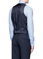 Wool hopsack waistcoat