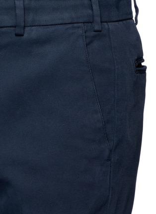 Armani Collezioni-Slim fit cotton chinos
