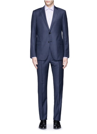 Armani Collezioni - 'Metropolitan' windowpane check wool suit