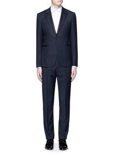 Armani Collezioni'Metropolitan' diamond jacquard wool tuxedo suit