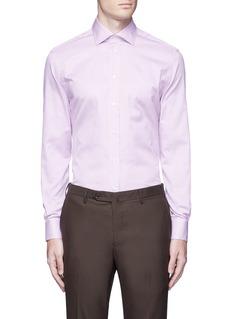 Armani CollezioniSlim fit stripe cotton shirt
