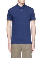 'Koree' cotton slub jersey polo shirt