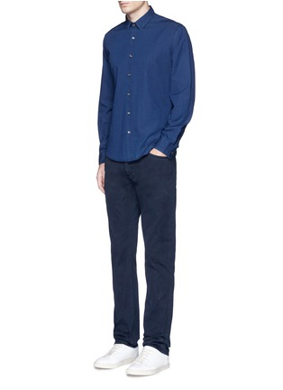 Figure View - Click To Enlarge - Theory - 'Zack PS' cotton chambray shirt