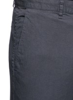 'Zaine' cotton straight leg pants