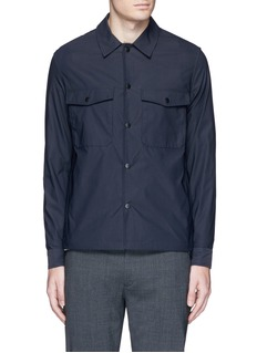 Theory 'Drato' tech fabric shirt jacket