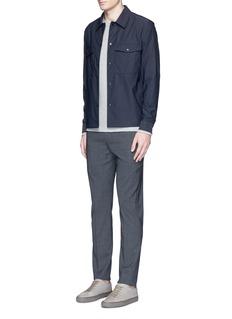 Theory'Drato' tech fabric shirt jacket