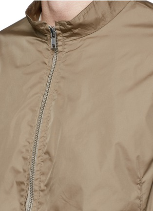 Detail View - Click To Enlarge - Theory - 'Trinton' zip cuff nylon jacket