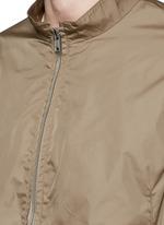 'Trinton' zip cuff nylon jacket