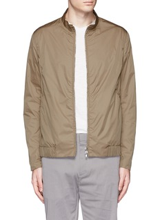 Theory 'Trinton' zip cuff nylon jacket