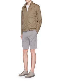 Theory'Trinton' zip cuff nylon jacket