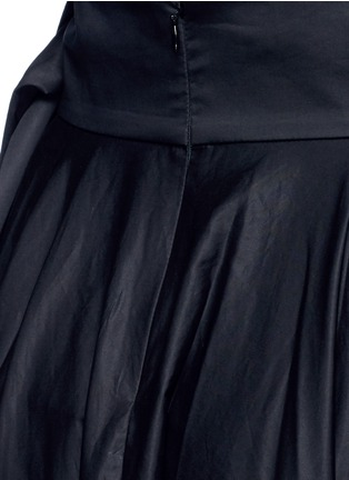 Detail View - Click To Enlarge - Tibi - Obi sash pleat poplin skirt