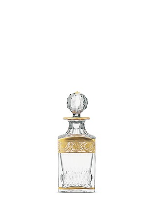Main View - Click To Enlarge - Saint-Louis Crystal - Thistle square decanter