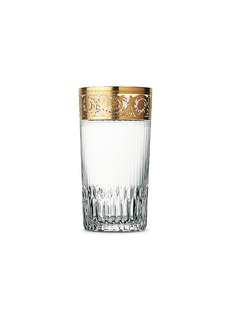 Saint-Louis Crystal Thistle highball glass