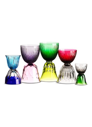 Main View - Click To Enlarge - Saint-Louis Crystal - Les Endiablés reversible glass set