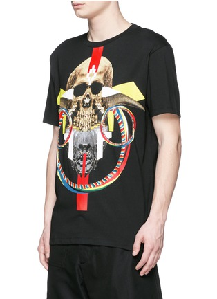Front View - Click To Enlarge - Marcelo Burlon - 'Batavia' skull print T-shirt