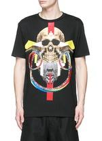 'Batavia' skull print T-shirt