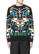 'Osorno' collage print sweatshirt