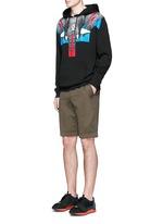 'Renca' elephant print hoodie