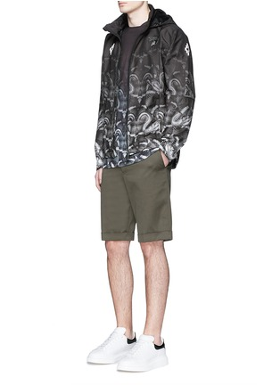 Figure View - Click To Enlarge - Marcelo Burlon - 'Lamborghini' snake print zip jacket