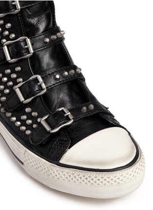 Detail View - Click To Enlarge - Ash - 'Vicious' stud leather sneakers