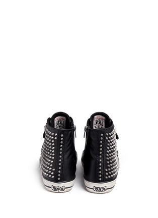 Back View - Click To Enlarge - Ash - 'Vicious' stud leather sneakers